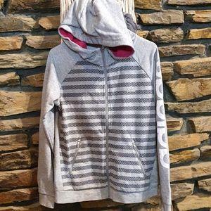 *Size 18 ADIDAS grey hooded jacket